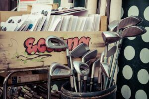What is offset in golf clubs